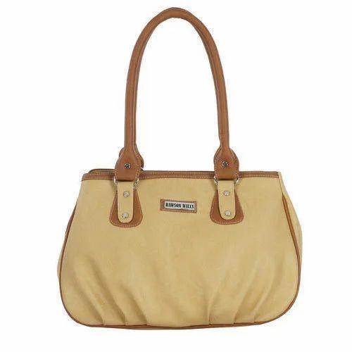 f4eeaa61f335 Rawson Wills Cream Ladies Designer Rexine Handbag