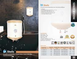 Kalptree - Shells - 15 Liters - Electric Water Heater / Geyser. All India Home Service.