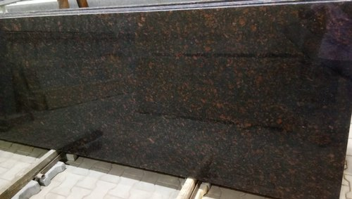 Polished Tan Brown Granite Slab, Thickness: 18-20mm, for Flooring