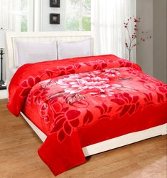 Double Layer Double Bed Mink Blankets