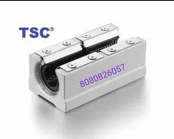 Aluminium SBR12LUU Linear Slide Bearing