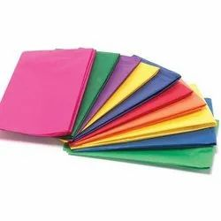 Multicolor Colored Tissue Paper, Packaging Type: Roll