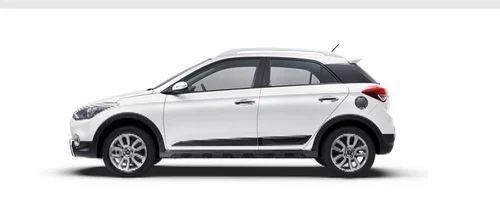 Hyundai I20 Active White Car