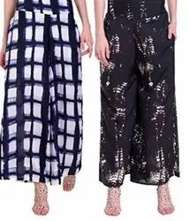 Casual Printed Georgette Palazzo