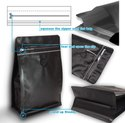 Coffee Valve Doypack Zipper Stand Up Pouch