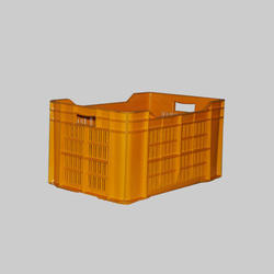 48 Litre Yellow Crate