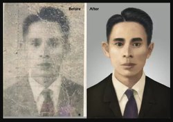 Old Photo Converted To Like New --- Best Image Editing Service