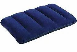 Blue Air Inflatable Velvet Pillow