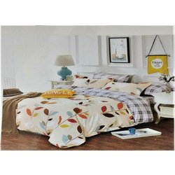 Cotton Flower Double Bed Sheet