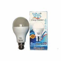 VM LED Step Dimming Bulb 15-7-0.5w, Base Type: B22, Model Name/Number: ACDBL012
