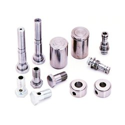 Steel CNC Machined Fip Parts, Cylindrical, Round, For Industrial Use