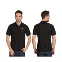 Polyester Casual Wear Adidas Plain T-shirt Bl