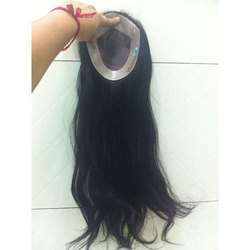 Human Hair Ladies Patch
