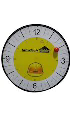 Round Wall Clock with Logo