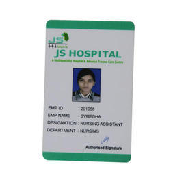 Plastic One Sided ID Card Printing Service