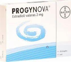 2mg Progynova estradiol, Cadila Healthcare (Zydus), Grade: Medicines