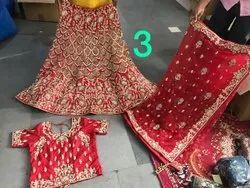 Heavy Embroidered Wedding Lehenga