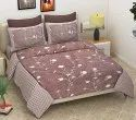Floral Print Cotton King Size Bed Sheet