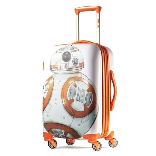 3c1dd93e7 American Tourister Star Wars 20 Inch Spinner Luggage Bag (BB8 All Ages)