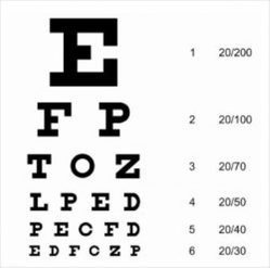 Vision Chart - Eye Chart Latest Price, Manufacturers & Suppliers