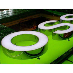 SS Mirror Chanel Letter Signage