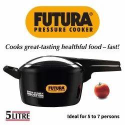 Hawkins Black 5 Litre futura pressure Cooker