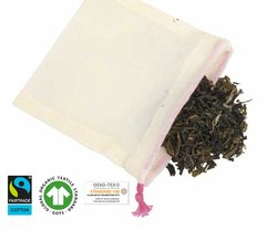 organic cotton tea bags