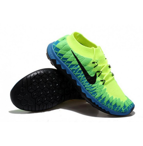 Nike Free 3.0 Flyknit Green Running Imported Shoes