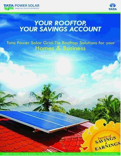 Mnm Solar Power System Retail Trader Of Tata Power Solar Rooftop Solutions Tata Power Solar On Grid Rooftop Solutions From Mumbai