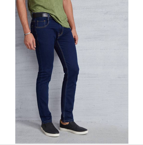 bee843aa4ca Metronaut Slim Men Dark Blue Jeans, Blue Denim Jean, नीली ...