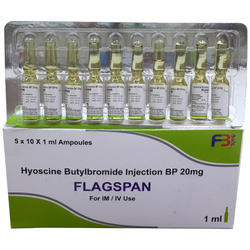 Hyoscine Butylbromide Injection BP 20 mg