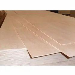 Light Brown Teak Veneer Plywood, Thickness: 4 mm