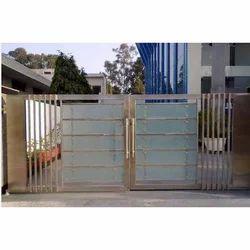 SS Glass Gate