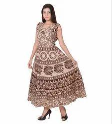 Rajasthani Print Jacket Frock