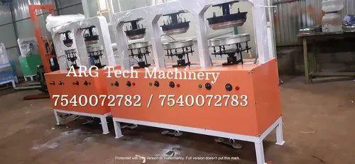 Semi Automatic Pakku Mattai Plate Machine