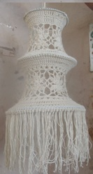 Handmade Crochet Lamp shade