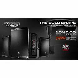 2.0 JBL EON 600 Speaker