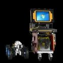 Robot Crawler CCTV Inspection System- Pipeline air ducts-underwater