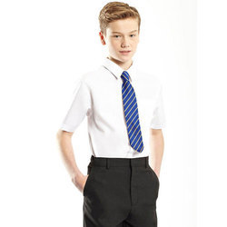 Cotton Plain Boys School Uniform, Size: Small, Medium, Large, XL