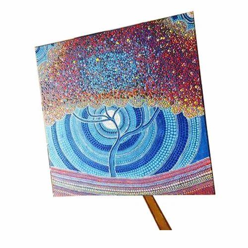 Shrusti Landscape Dot Painting Rs 3500 Piece Shrusti Designs Id
