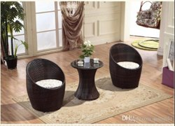 Garden Furniture Wicker Rattan Egg