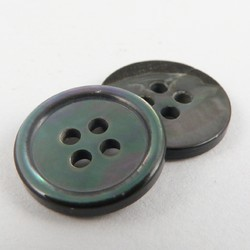 Black Round Mop Buttons