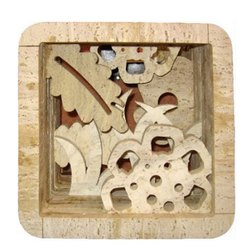Wooden Color Marble Stone Jali