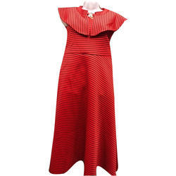Free Size Red Ladies Party Wear Dress