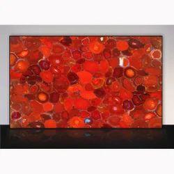 Ruby Red Carnelian Stone