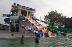Combination Water Slide