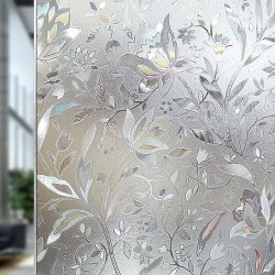 Multicolor Decorative Window Glass, Size: 4x100