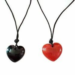 Precious Stone Hearts Pendant