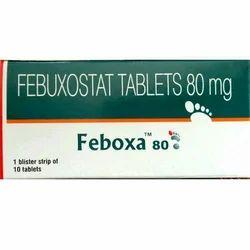 Feboxa 80mg Tablet (Febuxostat)