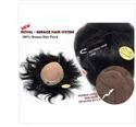 7x5 Inch Natural Black Human Hair Mirage Patch